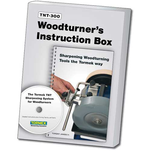 Tormek Accessory, Woodturner's Instruction Box, DVD & Handbook Combo, TNT-300