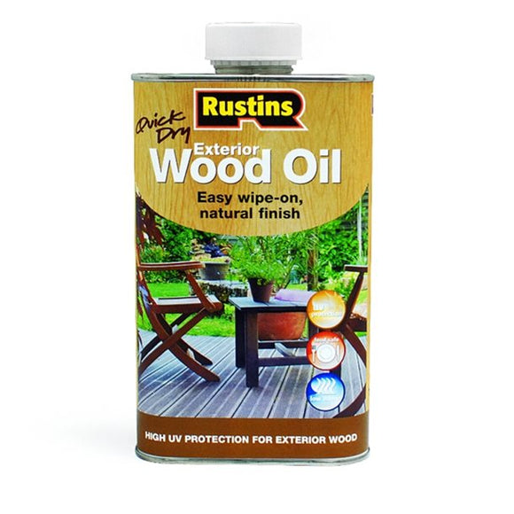 Rustins Exterior Wood Oil, 500ml
