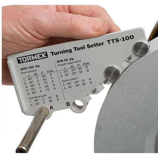 Tormek Accessory, Turning Tool Setter, TTS-100