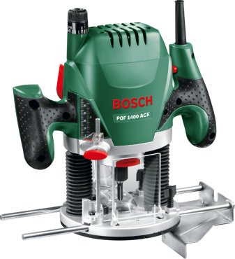 Bosch POF 1400 ACE Router in case