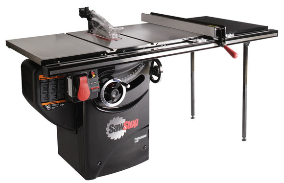 Sawstop Professional Cabinet Saw,  254mm, 3HP inc 36