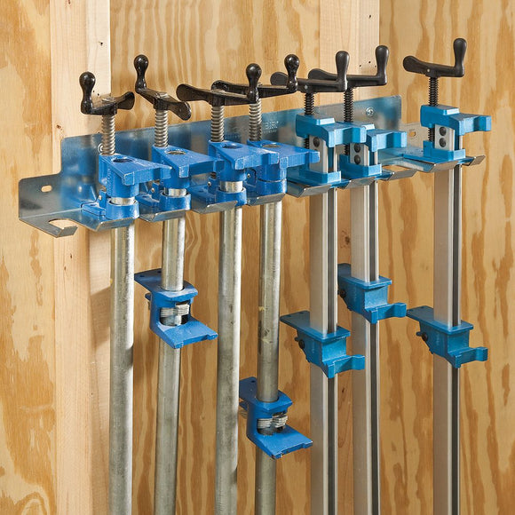 Rockler Pipe Clamp / Bar Clamp Rack