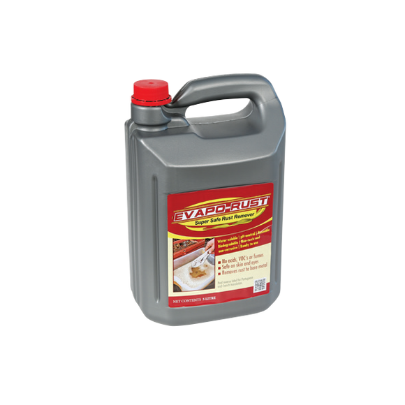 Evapo-Rust™ Super Safe Rust Remover, 5 Litre