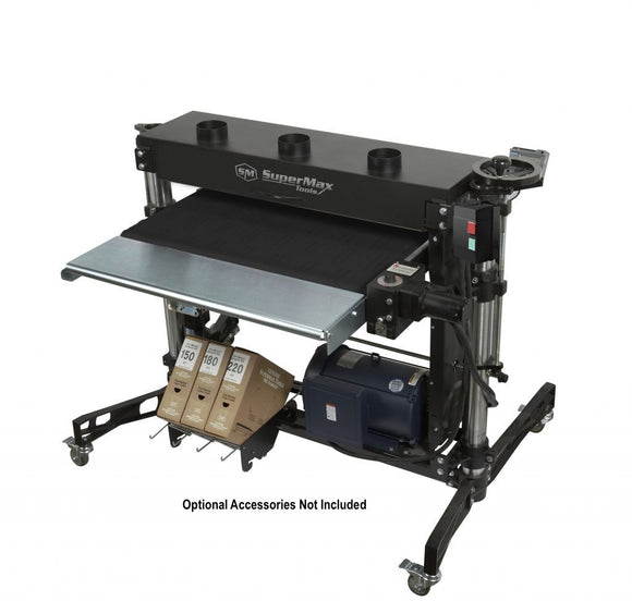 Laguna Tools Supermax Drum Sander, Double Drum, IntelliSand, 37