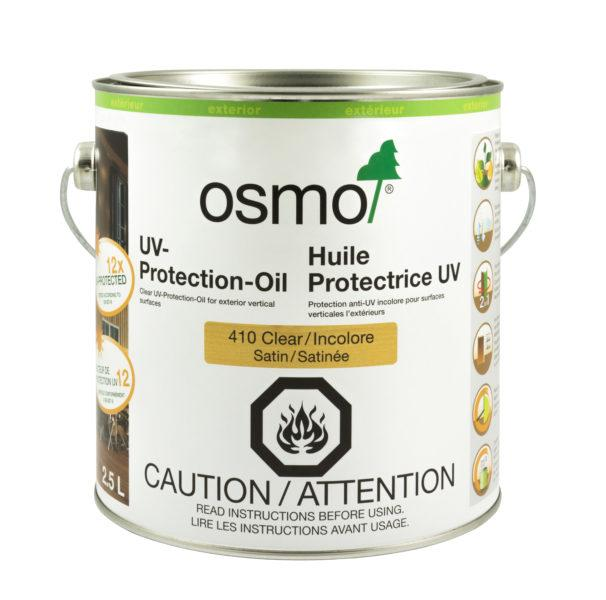 OSMO | UV-Protection-Oil, 410, Clear, Satin , w/o Film Protection, 2.5L