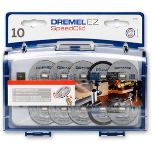 Dremel Cutting Disc Set Speedclic S690 10Pc