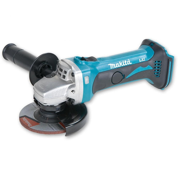 Makita DGA452ZK Cordless Angle Grinder, 18V LXT, 115mm, Tool Only