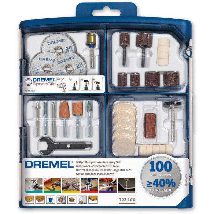 Dremel 100 PC Accessory Kit