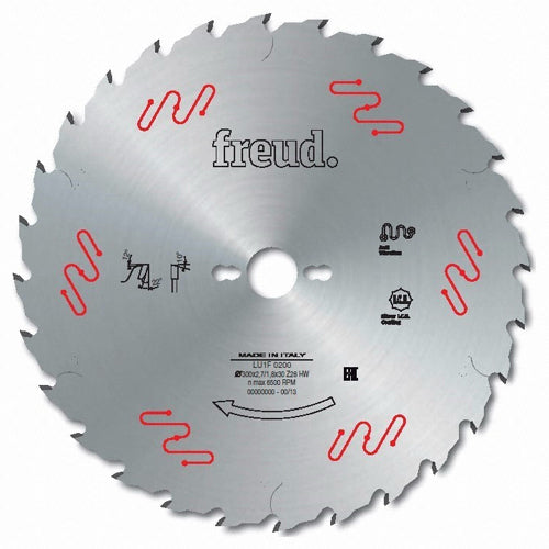 Freud Sawblade, Industrial, Ø-300mm, 28 Tooth, LU1F0200