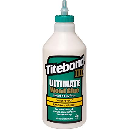 TiteBond III Ultimate Wood Glue, 32oz 950ml