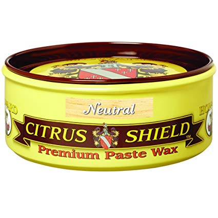 Howard Citrus Shield, Neutral Premium Paste Wax, 312g