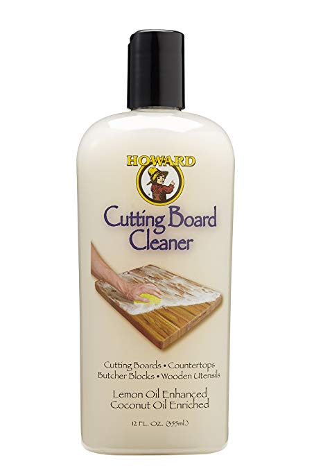 Howard Butcher Block and Cutting board Cleaner 355ml