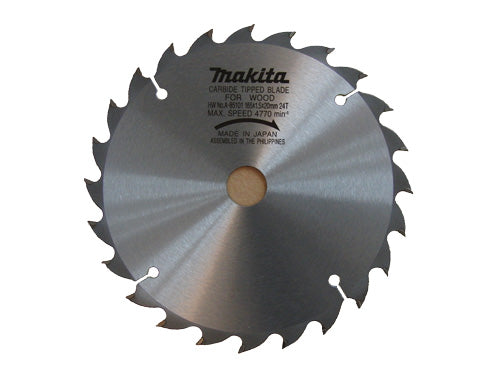Makita Saw Blade 165 x 20 x 24 Tooth A-85101
