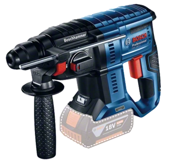 Bosch GBH 180 Li Rotary Hammer Drill Brushless Motor (Solo - Tool Only, excludes Battery & Charger)