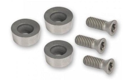 Arbortech 3 x Replacement Carbide Teeth and Screws Set, Industrial IND012.