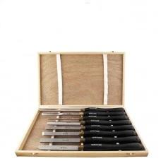 Wood Turning HSS Chisel Set 8PC Tork Craft CH10003