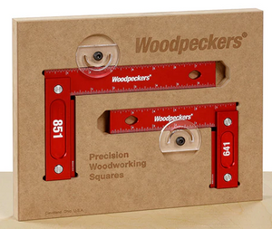 Woodpeckers 641/851 Precision Metric Try Squares Combo (150mm & 203mm)