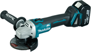 Makita Cordless Angle Grinder, 18V LXT, 115mm, Brushless, Tool Only DGA456ZJ