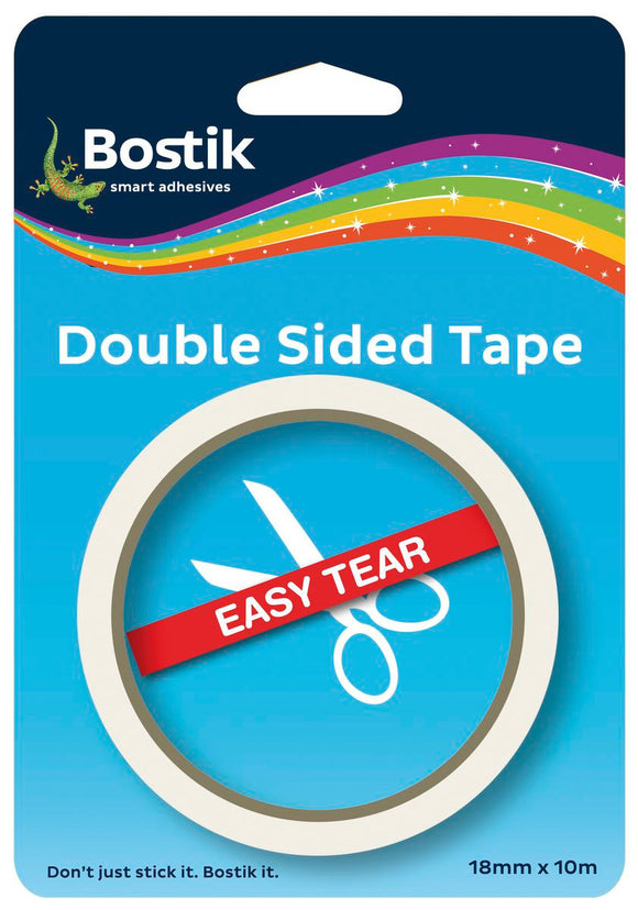 Bostick Double Sided Tape 18mm X 10m