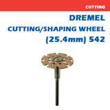 Dremel Cut & Shape Wheel 25.4mm - 542