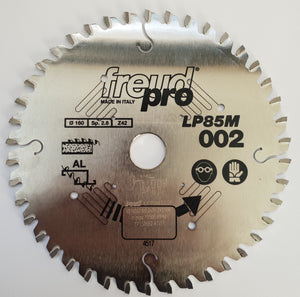 Freud Sawblade, Industrial, Ø-160mm, 42 Tooth, Aluminium Cutting, LP85M002P
