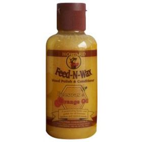 Howard Feed & Wax, Wood Polish & Condtioner, 140ml