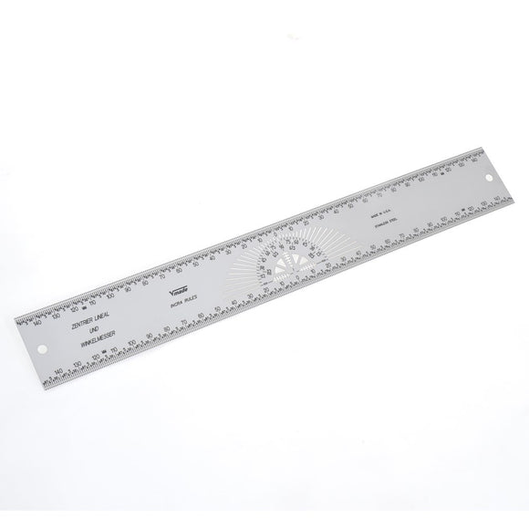 INCRA Centering Ruler, Precision marking, Metric Scales 300mm - 12