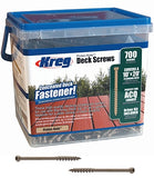 "Kreg Protec-Kote Pocket Hole Screws 2"" #8 700Box Coarse"