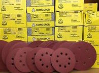 Klingspor Abrasive Discs, 60Grit, 150mmØ, PS22K, GLS3-6 Holes (Box of 50)