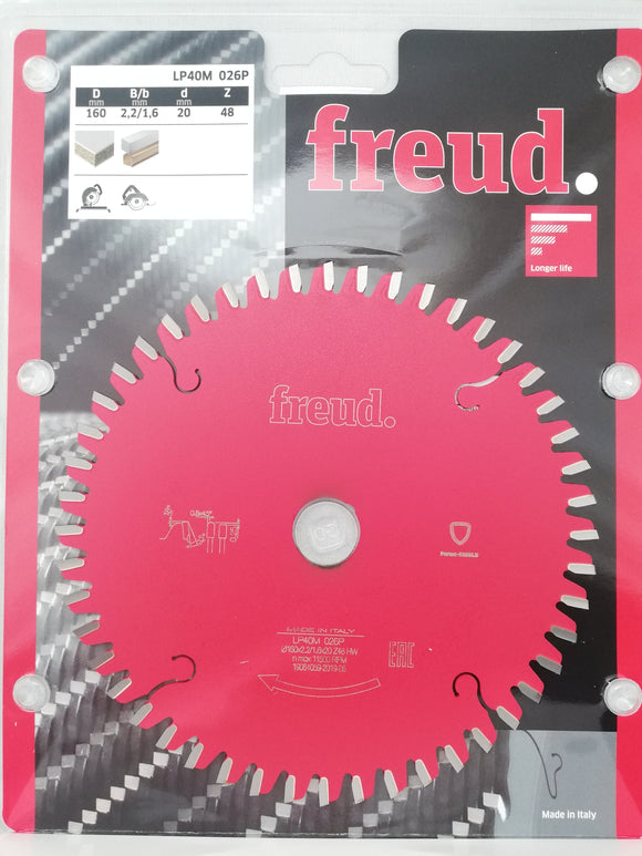 Freud Blade, 160mmØ X 48 Tooth, LP40M026P