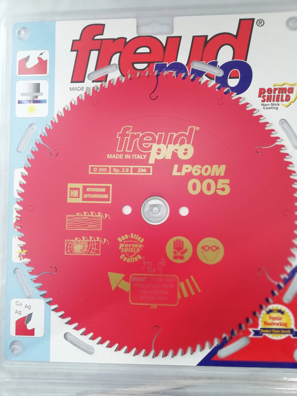 Freud Sawblade, Professional, Ø- 300mm, 96 Tooth, LP60M005P