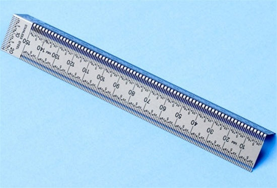 INCRA Precision Marking Bend Ruler, Metric Scales, 150mm