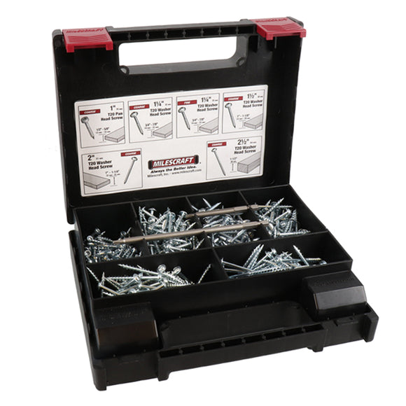 Milescraft 700 piece Pocket Screw Kit