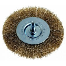Wire Wheel Brush 100mm with Shaft - PG475