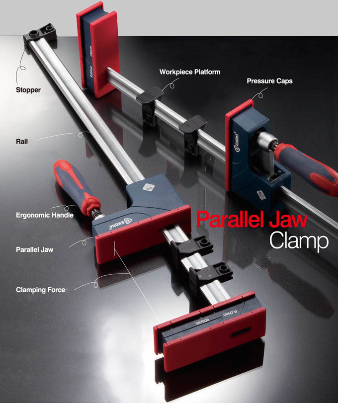 Ehoma Pjh80r Parallel Jaw Clamp 800mm Bpm Toolcraft