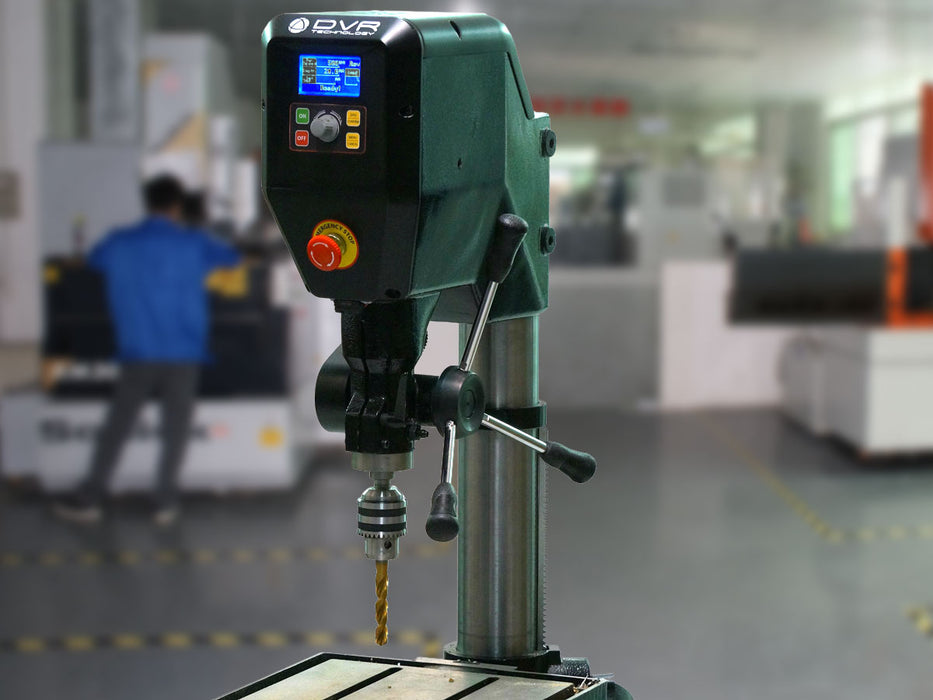 Nova Voyager Drill Press, DVR, Adaptive Control