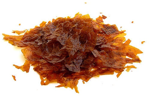 Toolcraft Shellac Flakes, Dewaxed, Orange, 500g