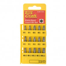 Screwdriver Insert Bit Set 16pc - Tork Craft