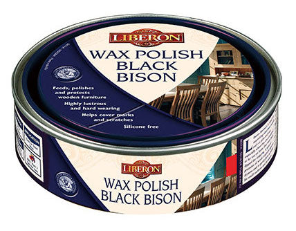 Liberon Black Bison Wax Polish, Neutral, 500ml