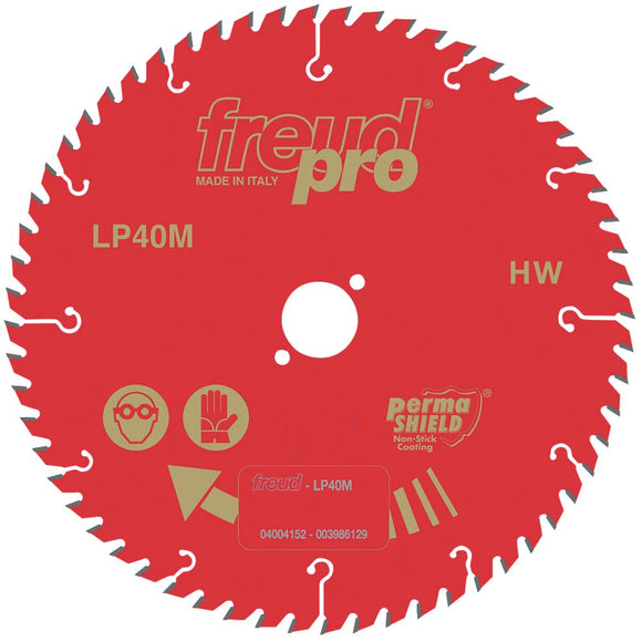 Freud Sawblade, Professional, Ø-190mm, 40 Tooth, LP40M015P