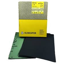 Klingspor Sandpaper/Abrasive Sheets - Water paper PS11A