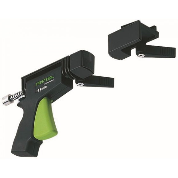Festool FS-Rapid Clamp And Fixed Jaws For Guide Rail System 489790