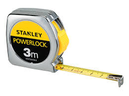 Stanley Powerlock Tape Measures 3m