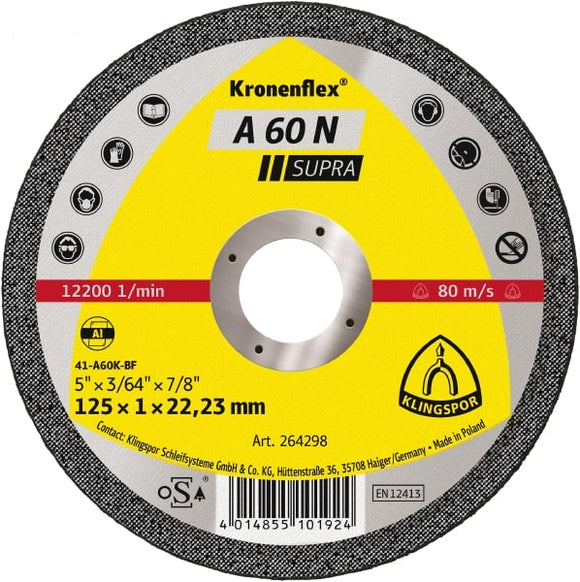 Klingspor Aluminium Cutting Disc 115mm