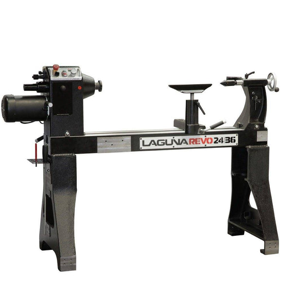 Laguna Tools Lathe, Revo 24|36, Woodturning