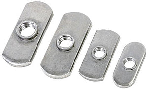 "Woodpeckers Rectangular Nuts, 1/4""-20, (10 Pack)"