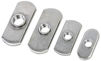 Woodpeckers Rectangular Nuts, 1/4