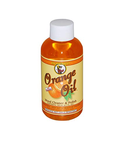Howard Orange Oil, Wood Polish & Cleaner , 140ml