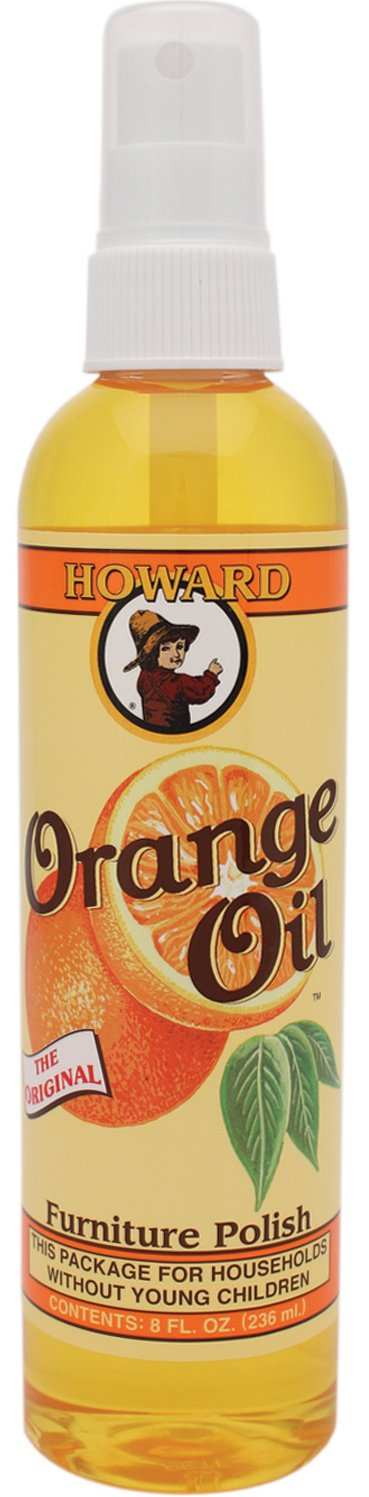 Howard Orange Oil, Wood Polish, 236ml