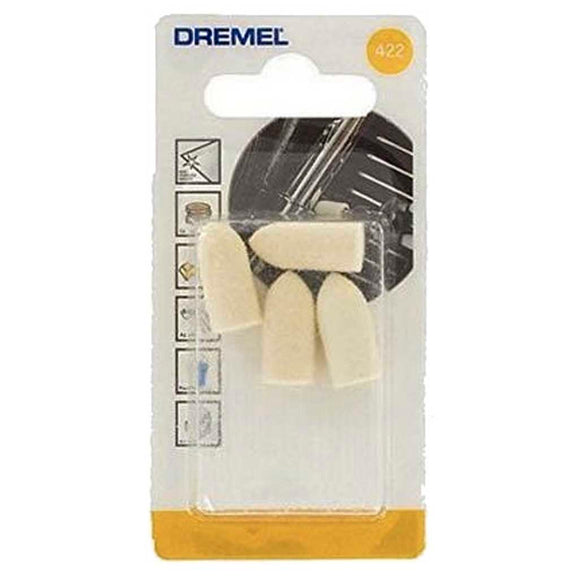 Dremel Polishing Pad 10mm, 4 Pack (422)